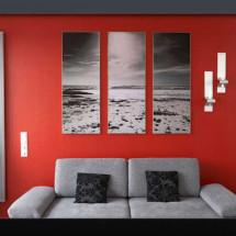 wallmax3 - Aluminiumrahmen mit Textildruck